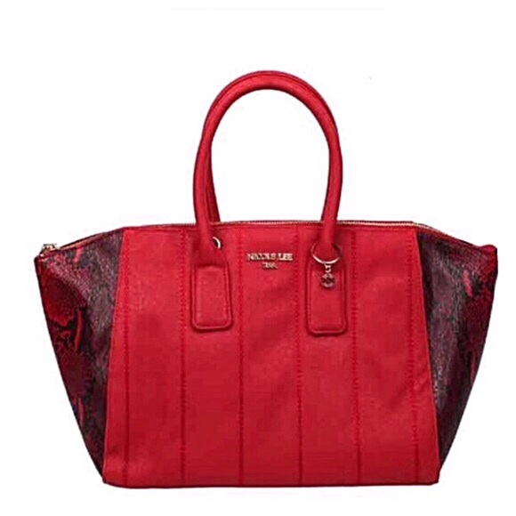 Nicole Lee Handbags - ✤ Emerson Faux-Snakeskin Tote Bag